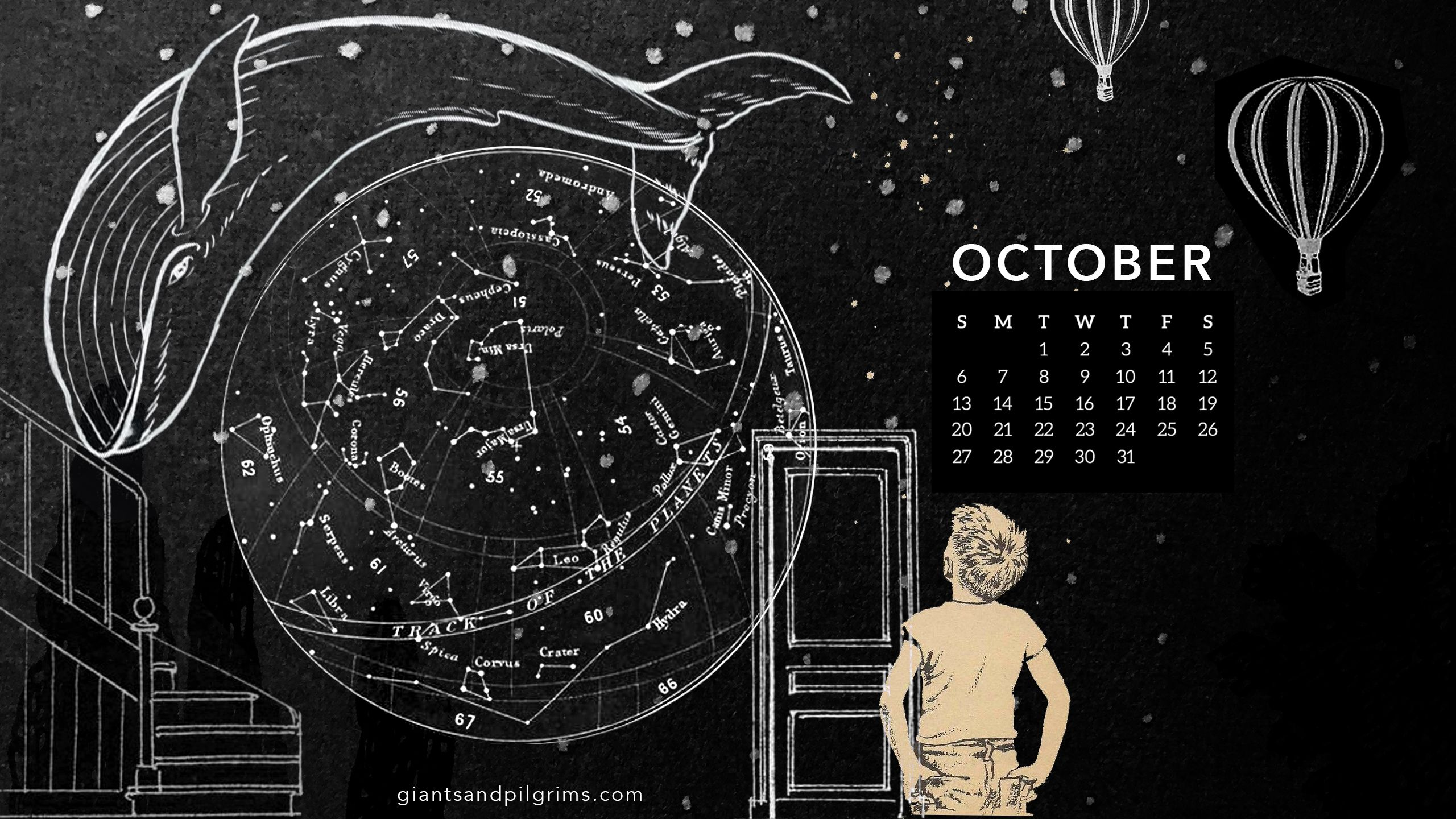October 2019 Desktop Wallpaper Giants Pilgrims